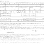 1年単位の変形労働時間制に関する協定届 様式第4号(第12条の4第6項関係)